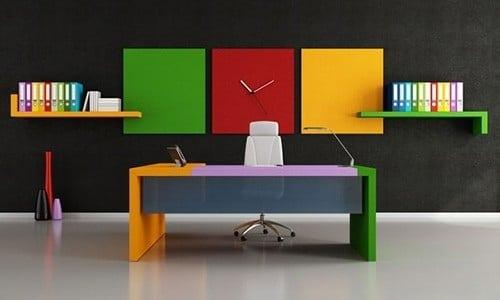 رنگ در محیط کاری و اداری